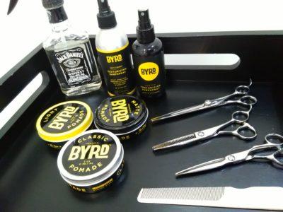 美容師のハサミなど道具